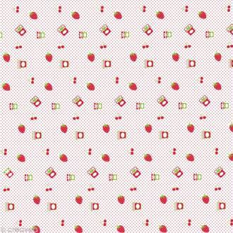 Papier décoratif à coller Artepatch - Confitures - 40 x 50 cm