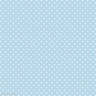 Feutrine à motifs Artemio 1 mm 30 x 30 cm - Pois Bleu