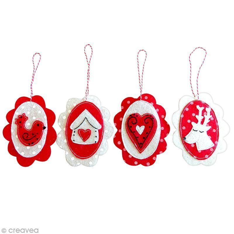 Feutrine à motifs Artemio 1 mm 30 x 30 cm - Pois Rouge - Photo n°3