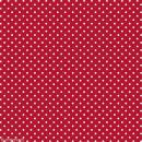 Feutrine à motifs Artemio 1 mm 30 x 30 cm - Pois Rouge - Photo n°1