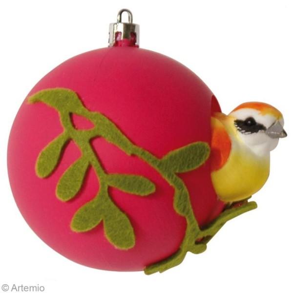 Boule de Noël 8 cm à décorer x 6 - Photo n°3