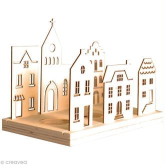 Bougeoir Maisons à décorer