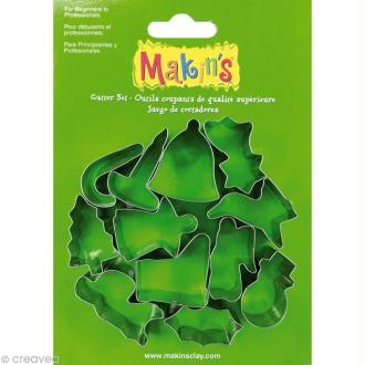 Emporte-pièces Makin's Clay Noël - 12 pcs