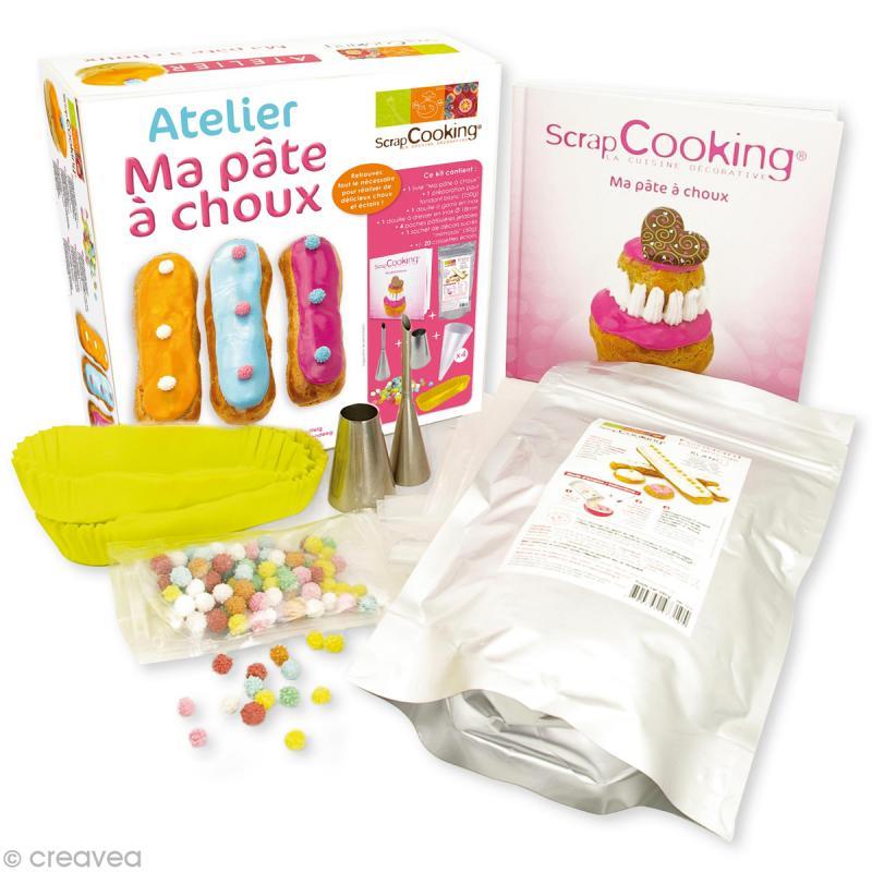 Coffret atelier ma p te choux coffret cuisine cr ative creavea - Coffret cuisine creative ...