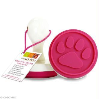 Tampon à biscuit Patte de chat - 6,5 cm