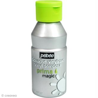 Gouache Prima Magic Pebeo - Argent 150 ml