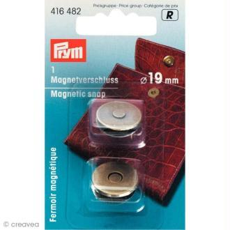 Fermoir magnétique 19 mm - Bronze