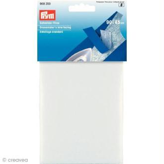 Entoilage thermocollant standard Blanc pour couture 90 x 45 cm