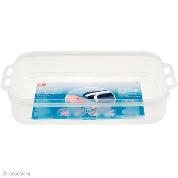 Boîte de rangement modulable Click box jumbo - Compartiment 7 litres - Photo n°1
