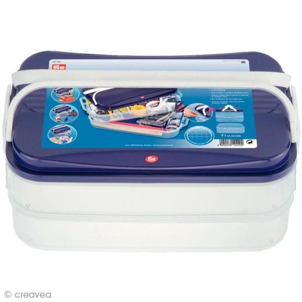 Boîte de rangement modulable Click box jumbo - 14 litres - Photo n°1