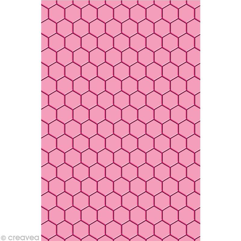 plaque d 39 embossage cut it all toga nid d 39 abeille a5 dies embossage creavea. Black Bedroom Furniture Sets. Home Design Ideas
