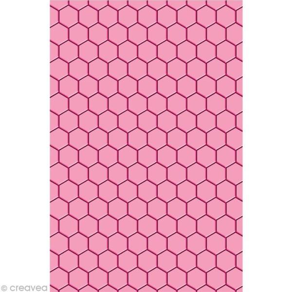 Plaque d'embossage Cut It All Toga - Nid d'abeille A5 - Photo n°1