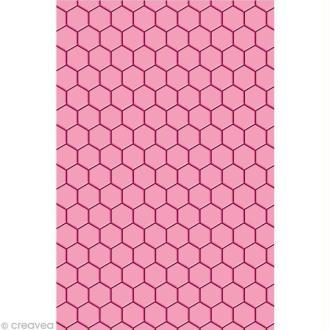 Plaque d'embossage Cut It All Toga - Nid d'abeille A5
