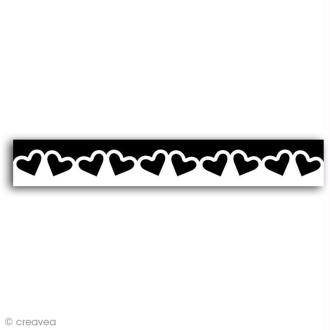 Perforatrice bordure Coeurs - 4 cm
