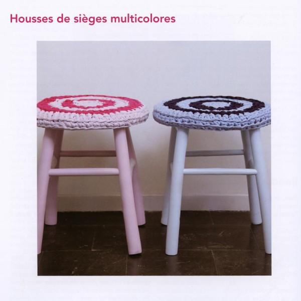 Livre Hoooked Mode & déco en fil Zpagetti - Photo n°3