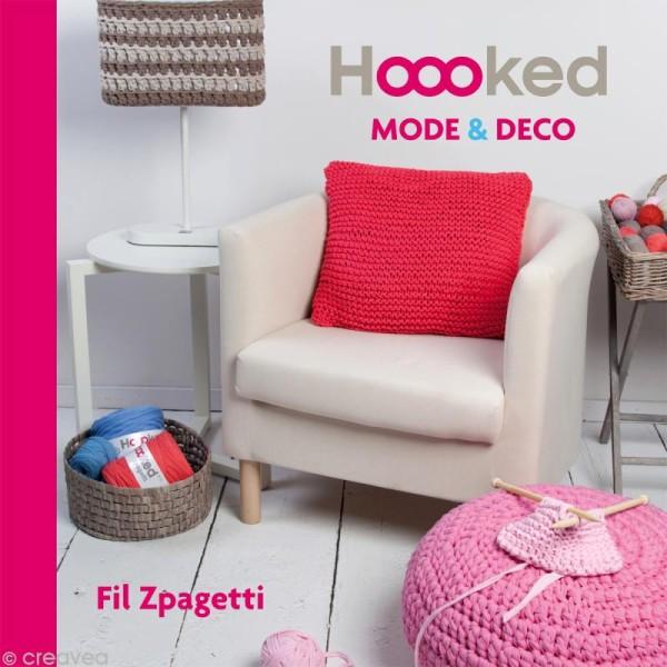 Livre Hoooked Mode & déco en fil Zpagetti - Photo n°1