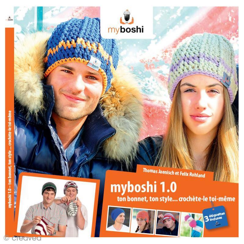 Livre bonnet Myboshi version française , 15 modèles de bonnet , Photo n°1
