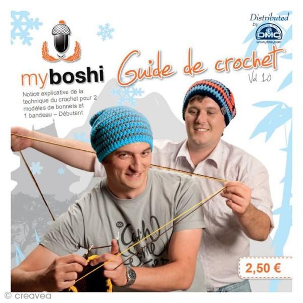 Mini livre Myboshi version française - 3 modèles de bonnet - Photo n°1