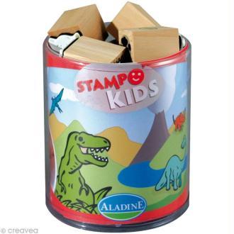 Kit 15 tampons Stampo'kids Dino
