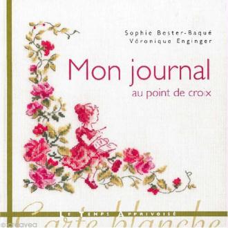 Livre broderie - Mon journal au point de croix - Collectif