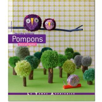 Livre Pompons déco et rigolos - Françoise Hamon