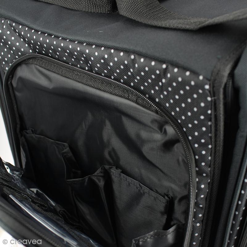 valise de rangement roulettes pour loisirs cr atifs sac scrapbooking creavea. Black Bedroom Furniture Sets. Home Design Ideas