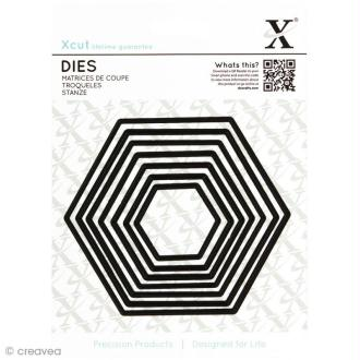 Dies X Cut - Hexagones x 7