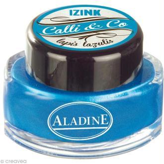 Encre de Calligraphie Bleu nacré 15 ml