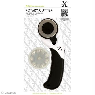 Cutter rotatif Xcut 45 mm + 3 lames
