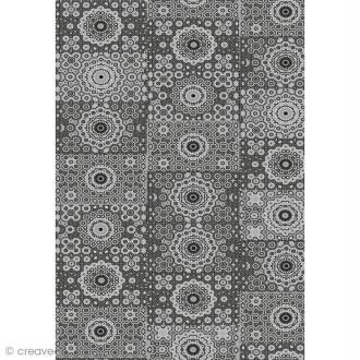 Décopatch Noir 632 - 1 feuille