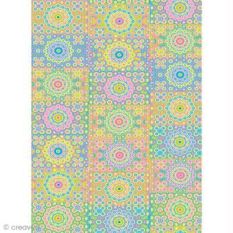 Décopatch Multicolore 633 - 1 feuille
