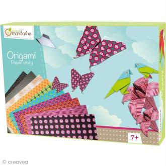 Boîte créative - Papier origami 1 - Edition 2013