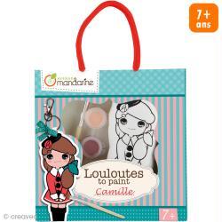 Kit créatif Les Louloutes à peindre - Camille