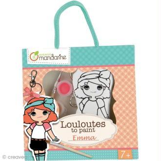 Kit créatif Les Louloutes à peindre - Emma