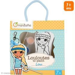 Kit créatif Les Louloutes à peindre - Lou