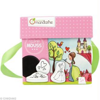 Coffret créatif Stampi'mouss - Princesses