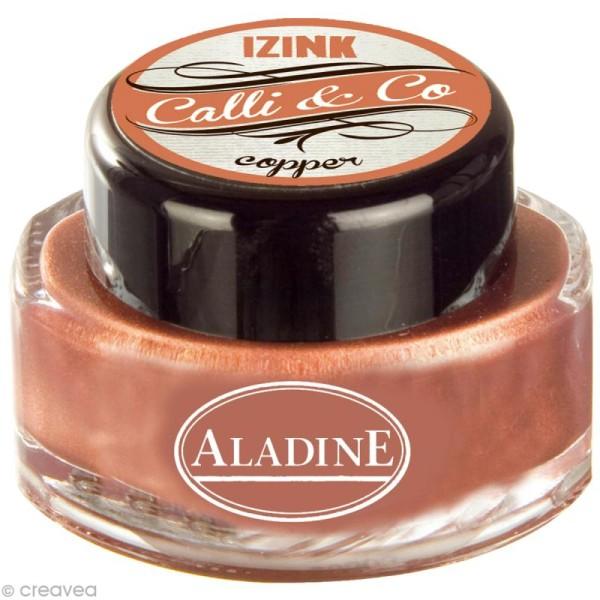 Encre de Calligraphie Cuivre 15 ml - Photo n°1