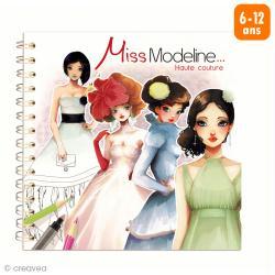 Carnet de dessin Créativ' Model Miss Modeline Haute couture - 72 pages
