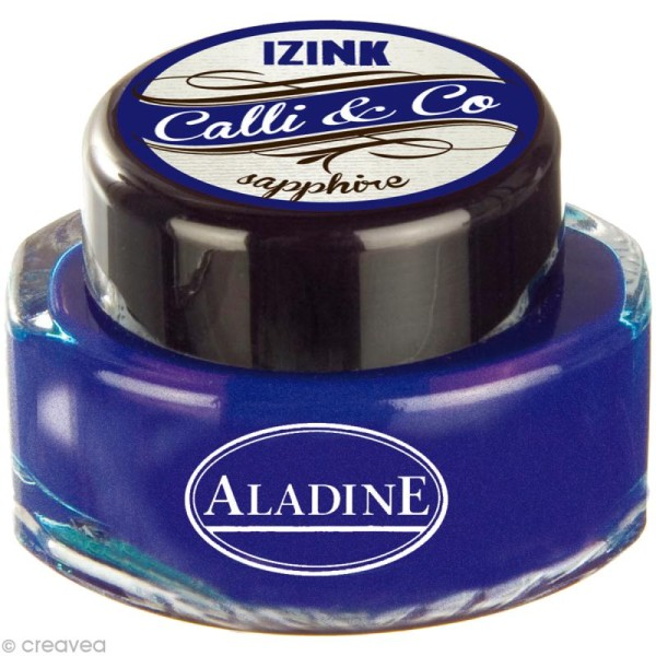 Encre de Calligraphie Bleu 15 ml - Photo n°1