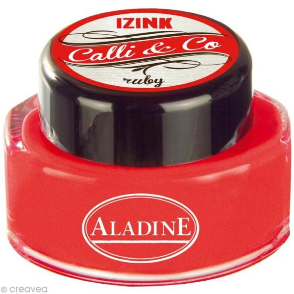 Encre de Calligraphie Rouge 15 ml - Photo n°1