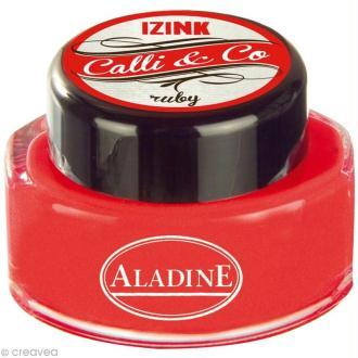 Encre de Calligraphie Rouge 15 ml