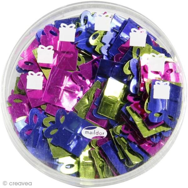 Confettis de table - Cadeaux x 5 g - Photo n°2