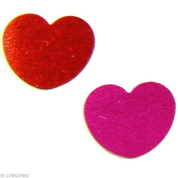 Confettis de table - Coeurs x 5 g - Photo n°1
