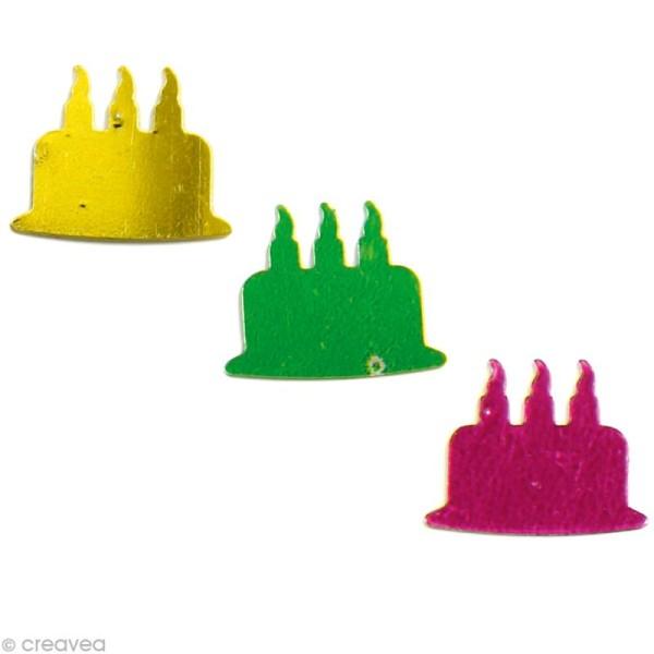 Confettis de table - Gâteaux x 5 g - Photo n°1