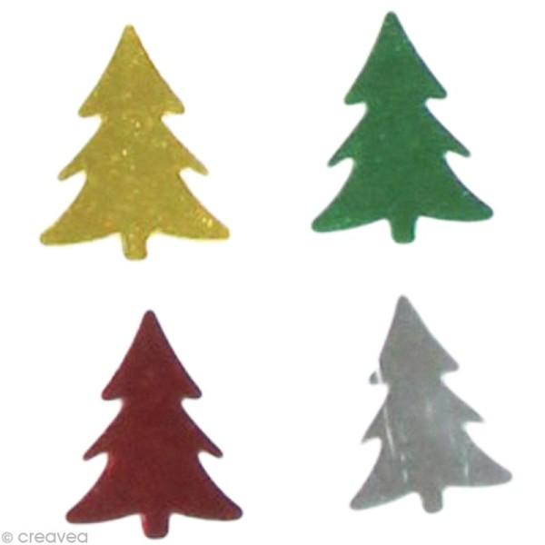 Confettis de table - Sapins x 5 g - Photo n°1