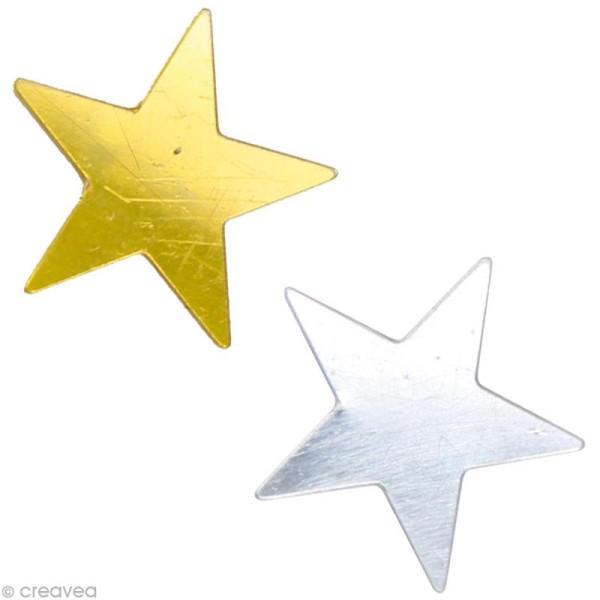 Confettis de table - Etoiles x 10 gr - Photo n°1