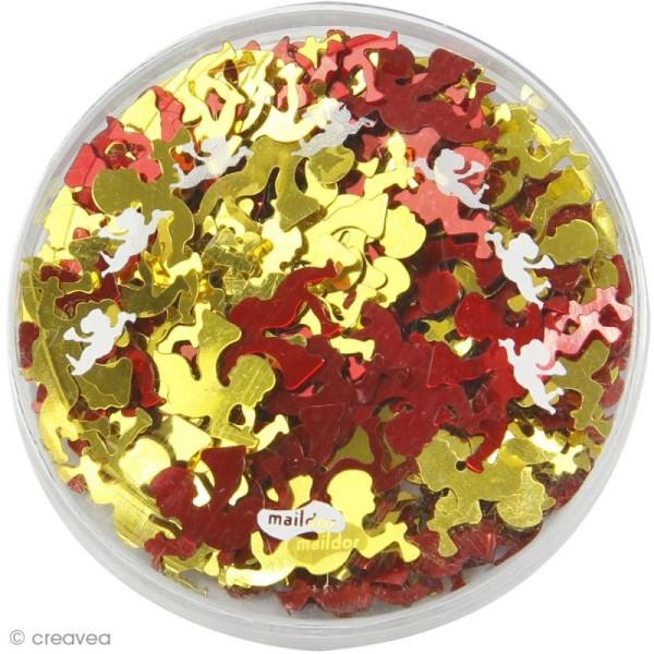 Confettis de table - Anges x 5 g - Photo n°2