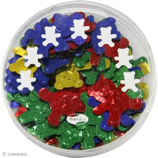 Confettis de table - Oursons x 5 g - Photo n°2