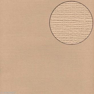 Papier scrapbooking Bazzill 30 x 30 cm - Texture - Fawn (beige)