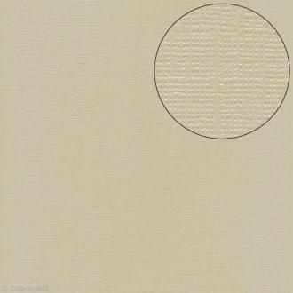 Papier scrapbooking Bazzill 30 x 30 cm - Pailleté - Bling string of pearls (blanc perle)